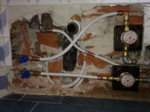Installazione componenti idraulici
