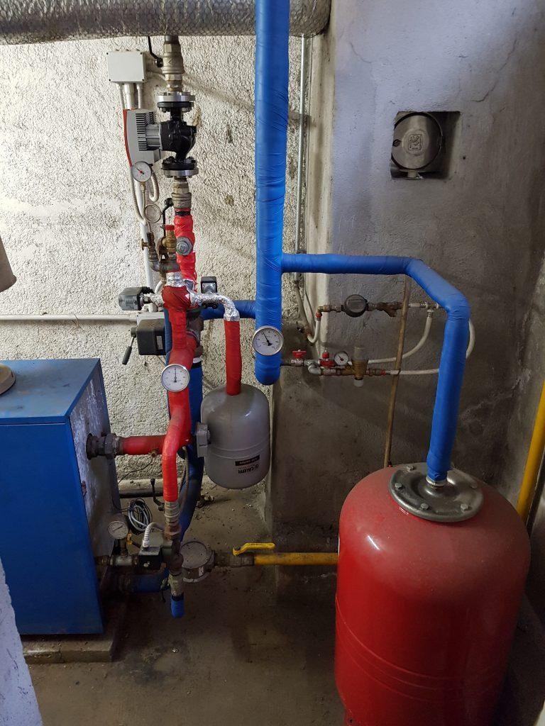 Rifacimento impianti gas