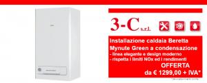 Offerta installazione caldaia Beretta condensazione Mynute
