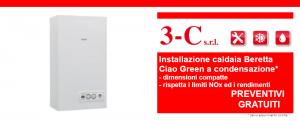 Offerta installazione caldaia Beretta a condensazione