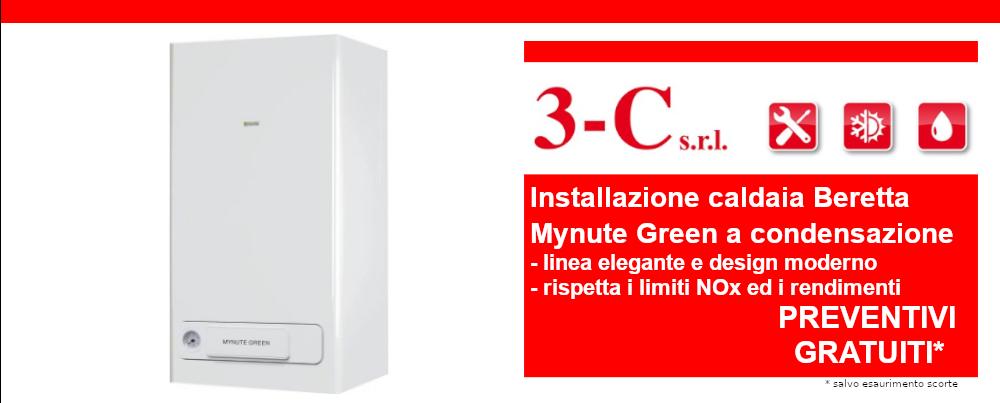 Offerta installazione caldaia a condensazione Beretta Mynute