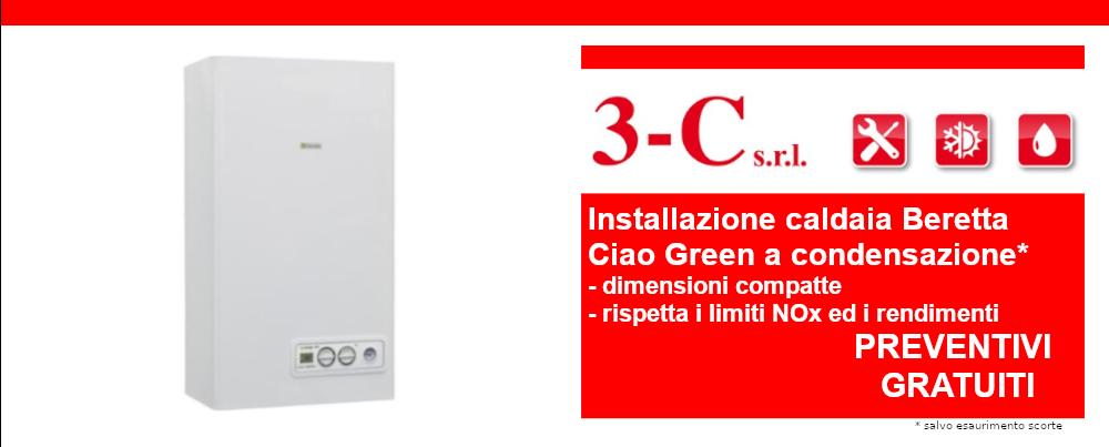 Offerta installazione caldaia Beretta Ciao Green a condensazione