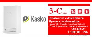 Offerta limitata installazione caldaia Beretta a condensazione